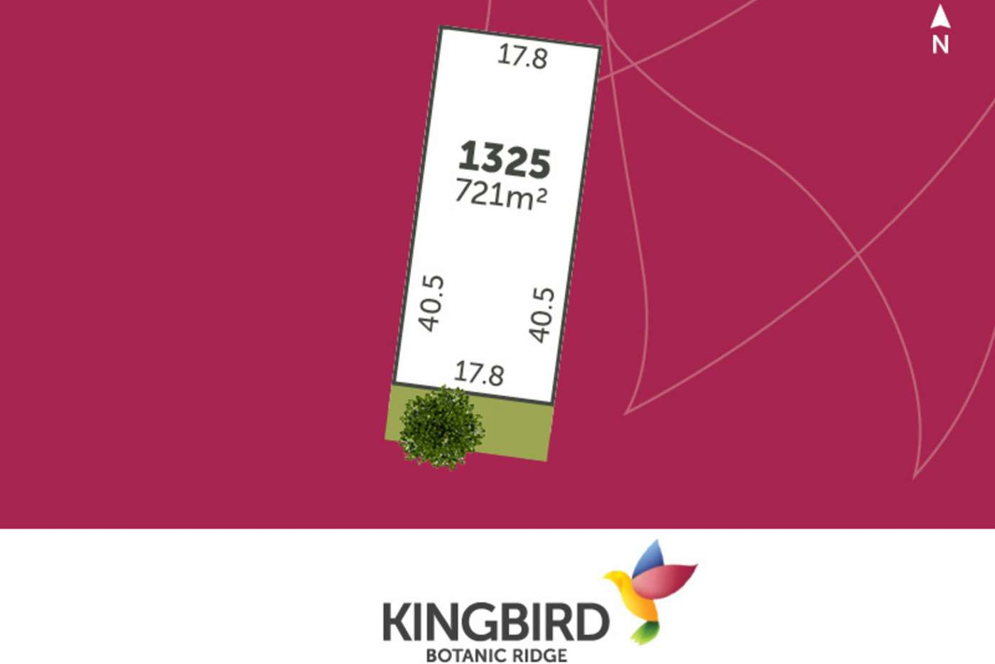 Main view of Homely residentialLand listing, LOT 1325 Bellthorpe Road, Botanic Ridge VIC 3977