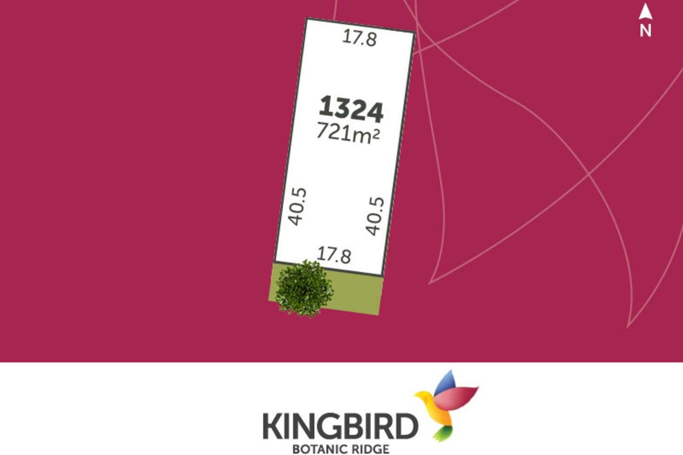 Main view of Homely residentialLand listing, LOT 1324 Gumflats Way, Botanic Ridge VIC 3977