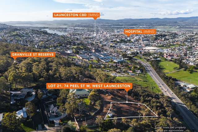 Lot 21, 74 Peel Street, West Launceston TAS 7250