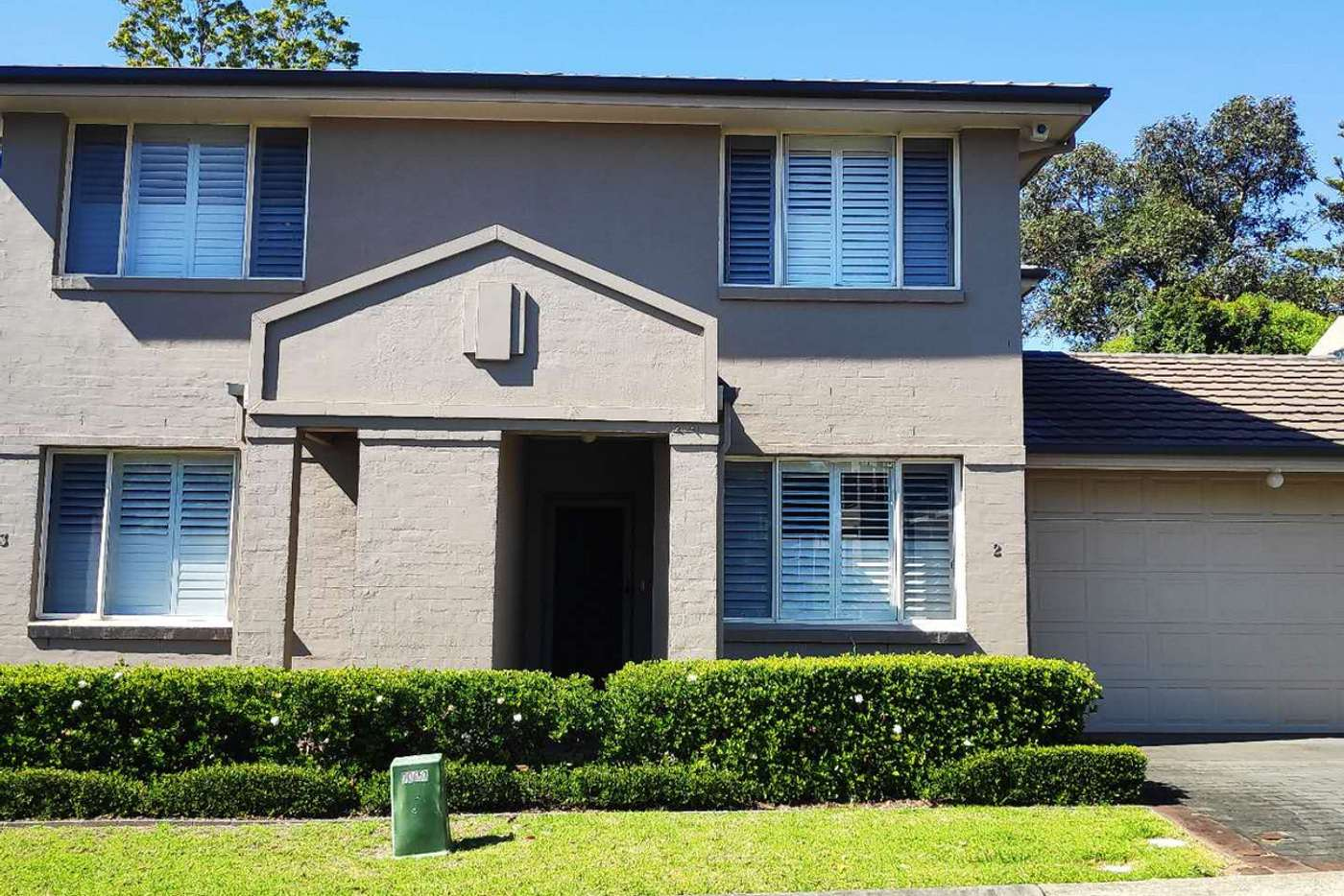 Main view of Homely townhouse listing, 2/11 Harrington Avenue, Castle Hill NSW 2154