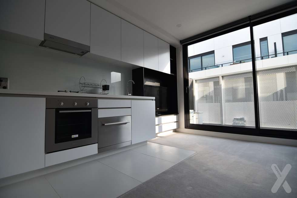 Second view of Homely apartment listing, 305/135 Roden Street, West Melbourne VIC 3003