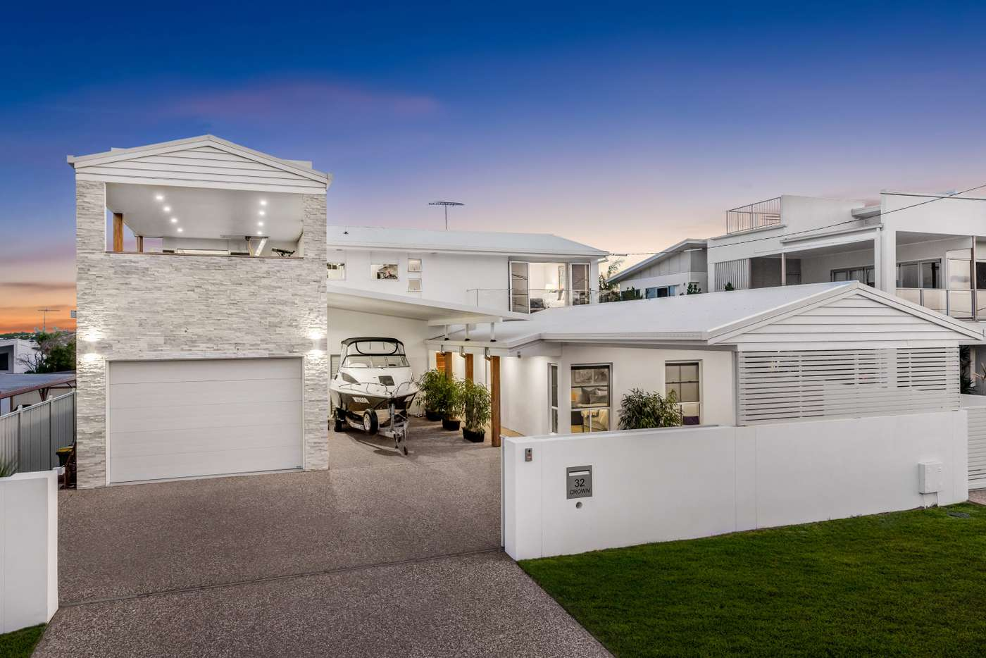 Main view of Homely house listing, 32 Crown Street, Wynnum QLD 4178
