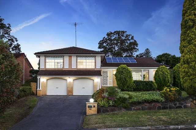 16 Cumberland Avenue, Castle Hill NSW 2154