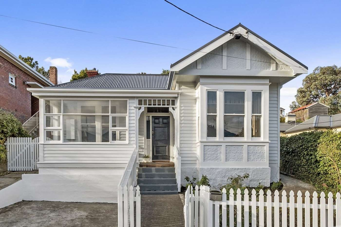 Main view of Homely house listing, 1 Pirie Street, New Town TAS 7008