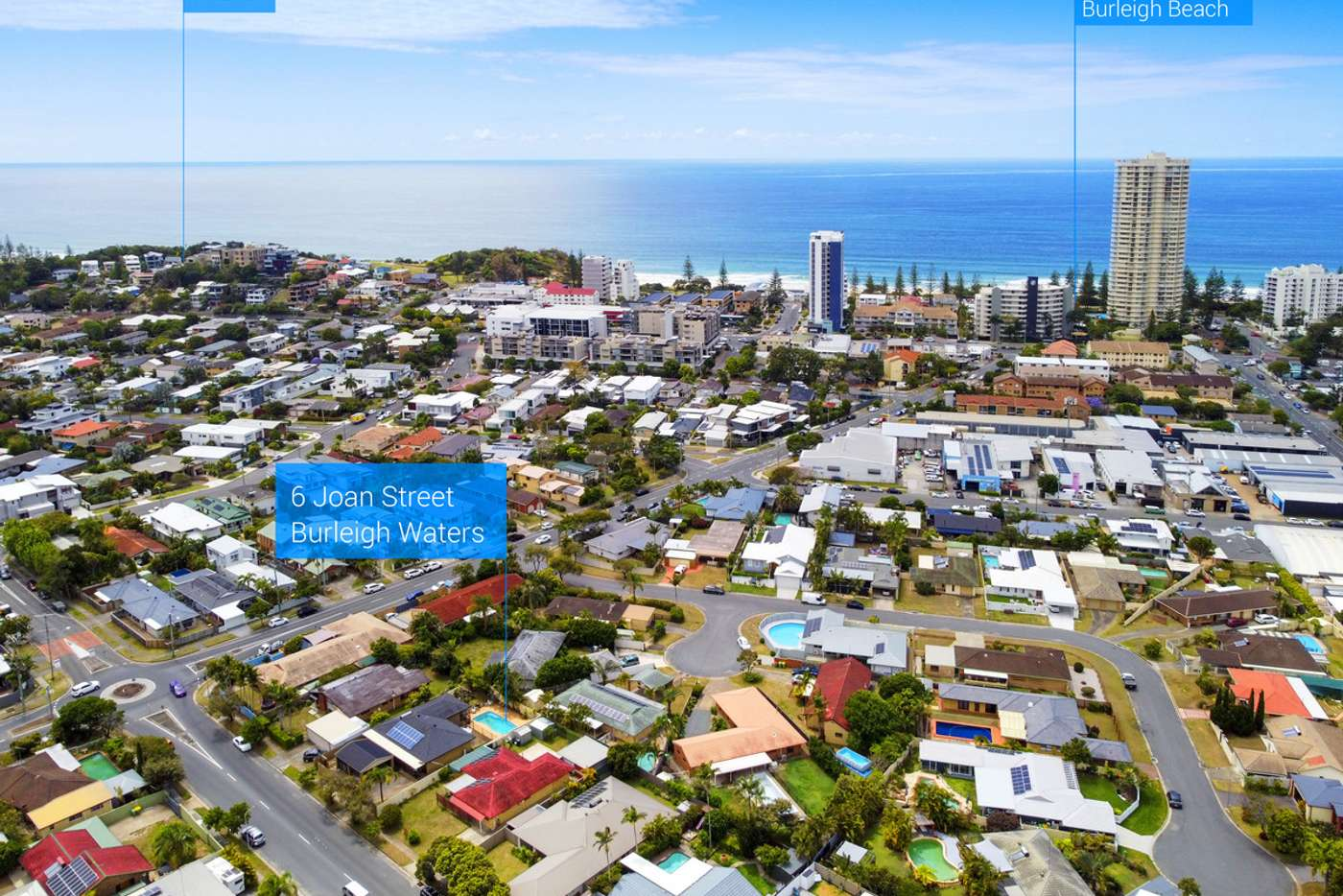 Fifth view of Homely house listing, 6 Joan Street, Burleigh Waters QLD 4220