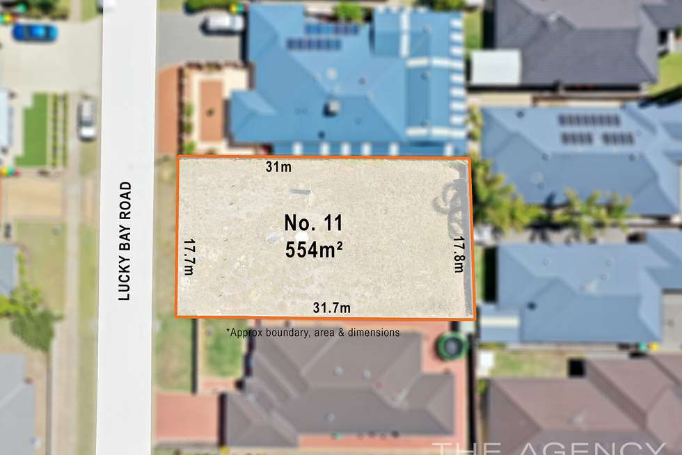 Second view of Homely residentialLand listing, 11 Lucky Bay Road, Secret Harbour WA 6173