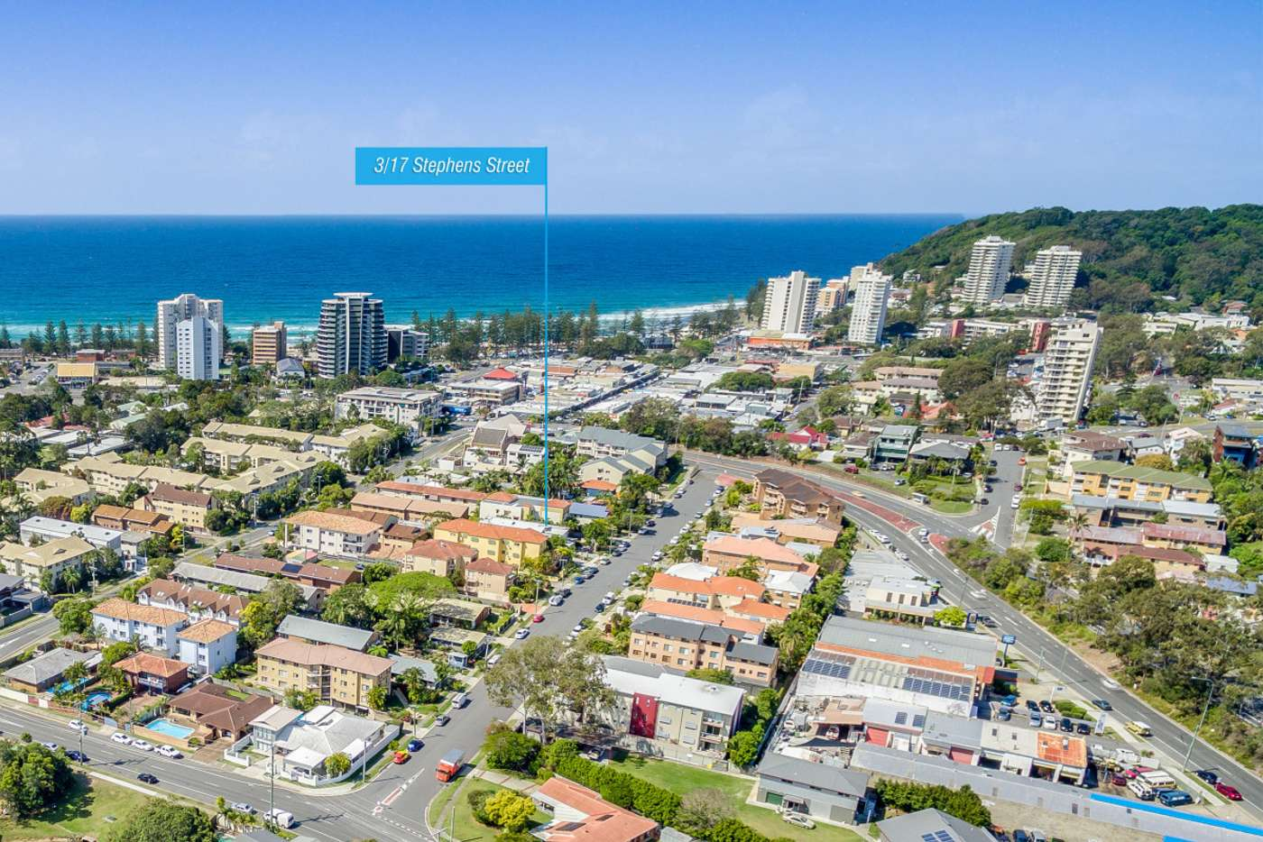 Main view of Homely townhouse listing, 3/17 Stephens Street, Burleigh Heads QLD 4220