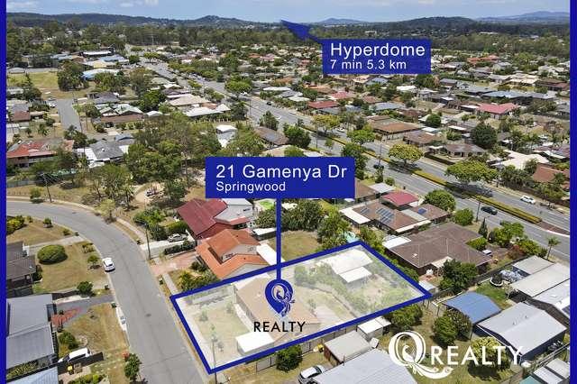 21 Gamenya Drive, Springwood QLD 4127