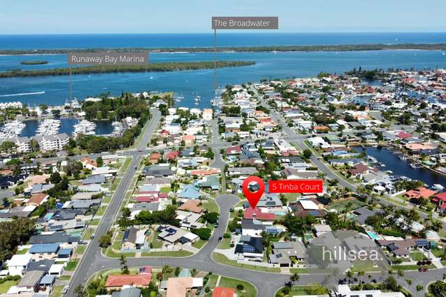 5 Tinba Court, Runaway Bay QLD 4216