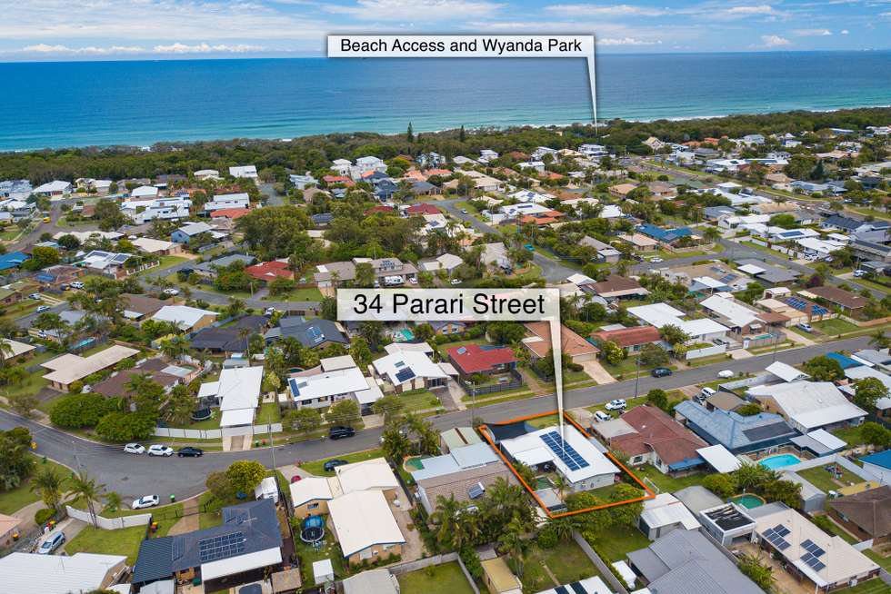 Second view of Homely house listing, 34 Parari Street, Warana QLD 4575