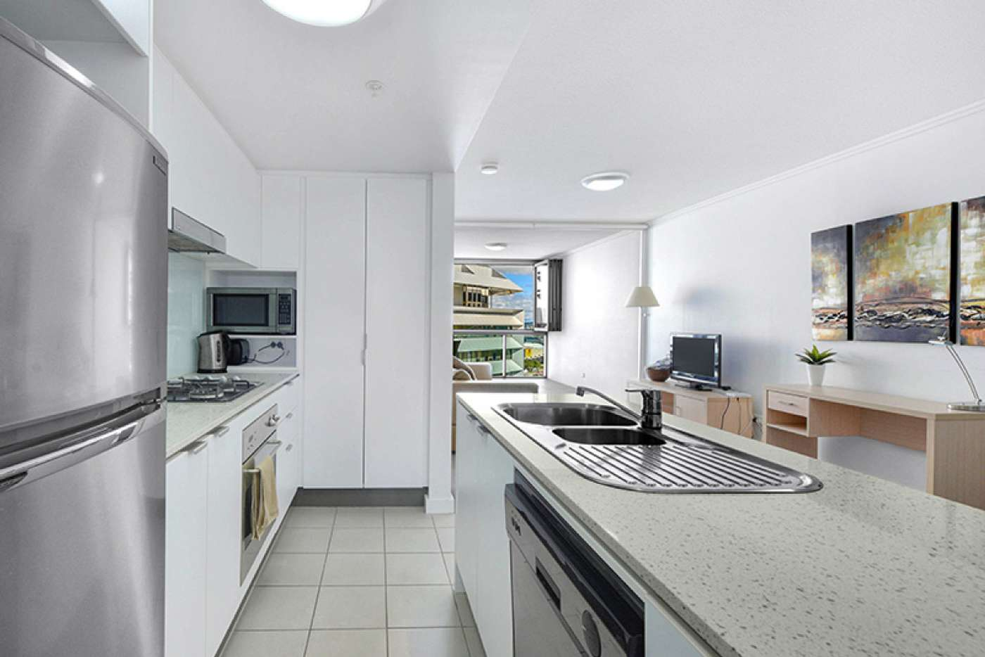 Sixth view of Homely apartment listing, 5/108 Albert Street, Brisbane City QLD 4000
