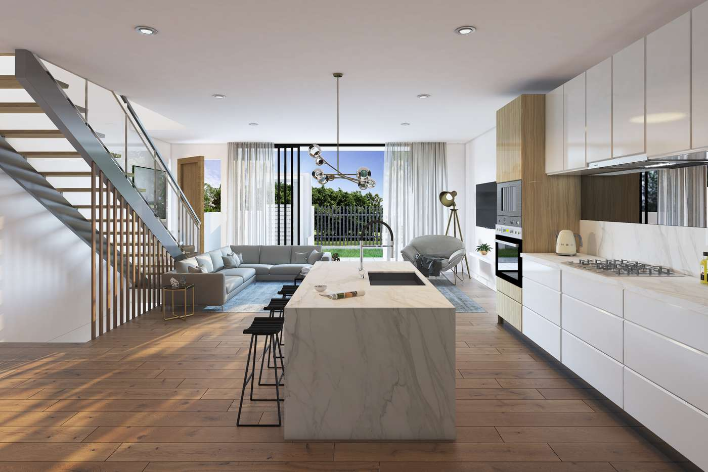 Main view of Homely townhouse listing, 12/96-100 Nicholson Street, Greenslopes QLD 4120