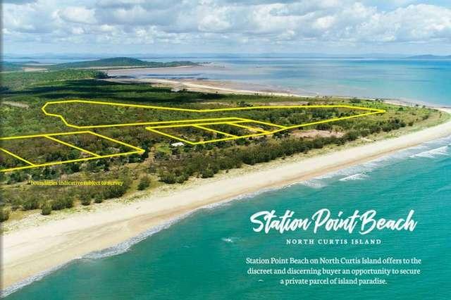 Station Point Beach, North Curtis Island, Curtis Island QLD 4680