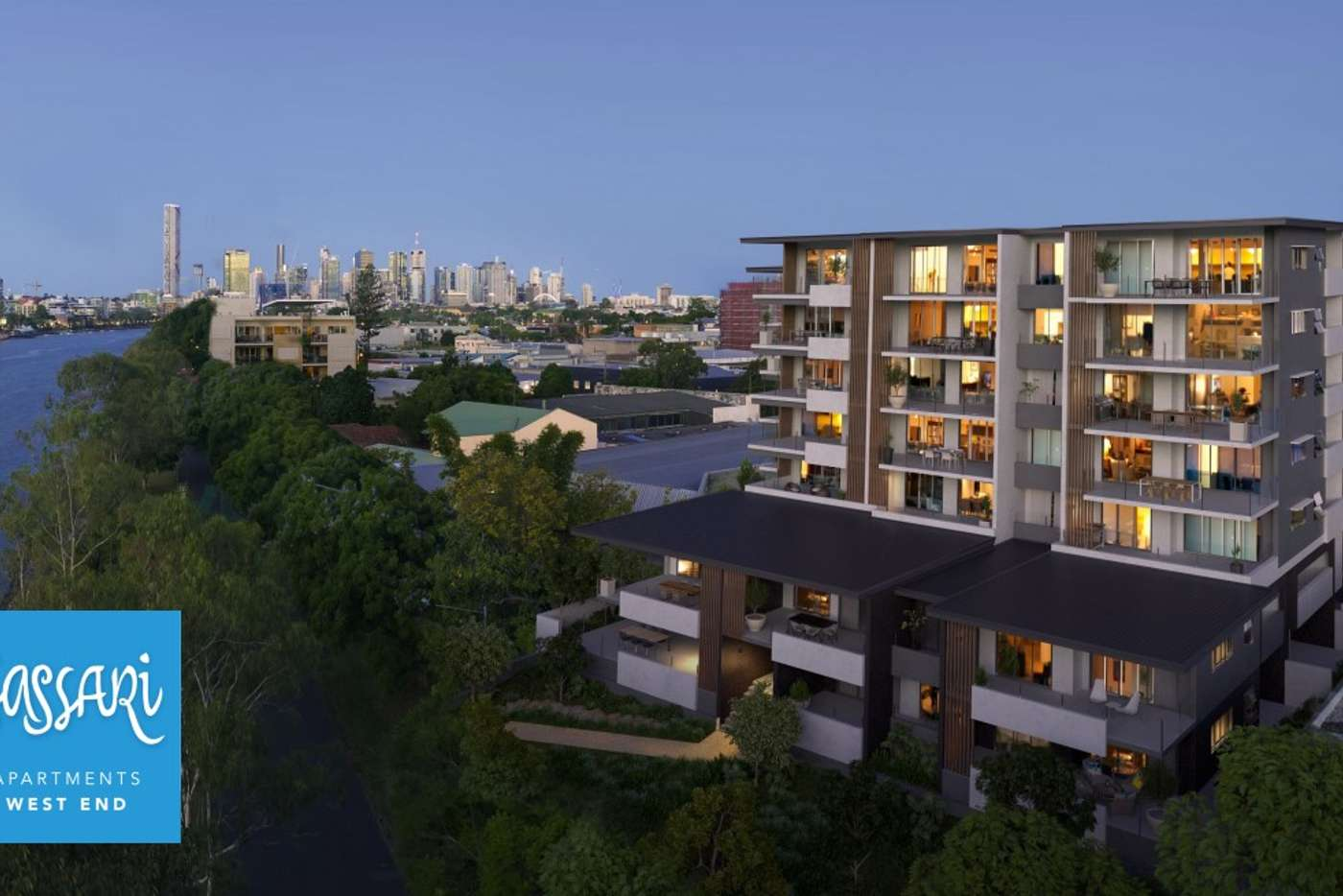 Main view of Homely apartment listing, 706/25 Duncan Street, West End QLD 4101