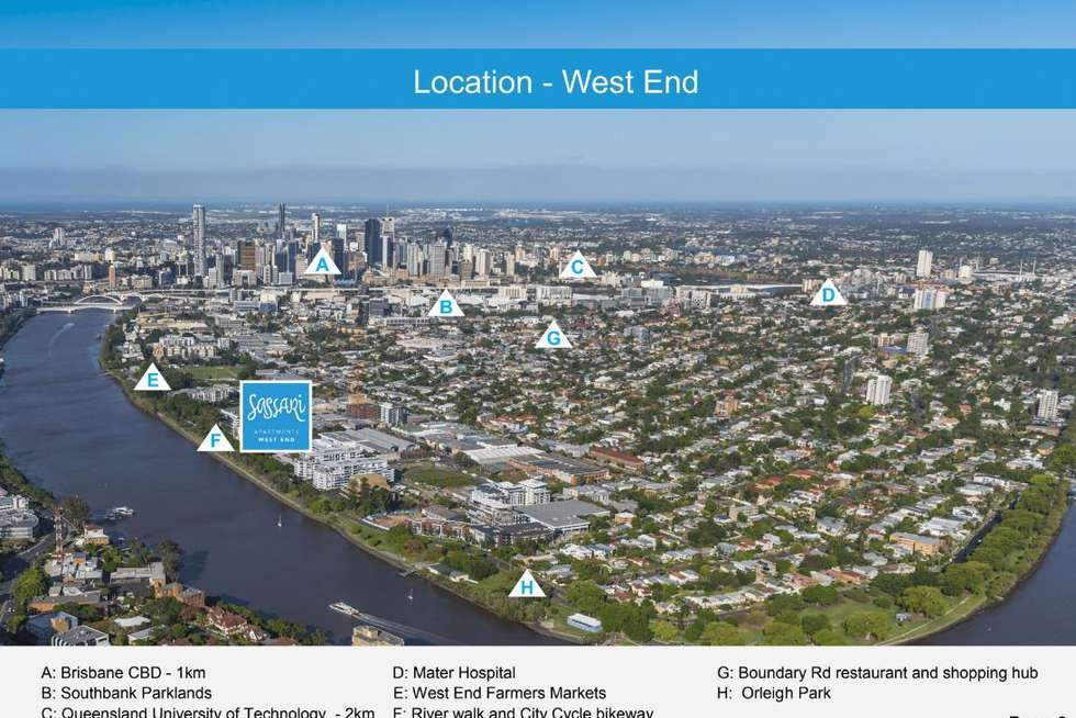 Second view of Homely apartment listing, 706/25 Duncan Street, West End QLD 4101