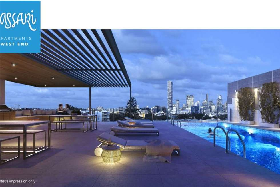 Third view of Homely apartment listing, 706/25 Duncan Street, West End QLD 4101