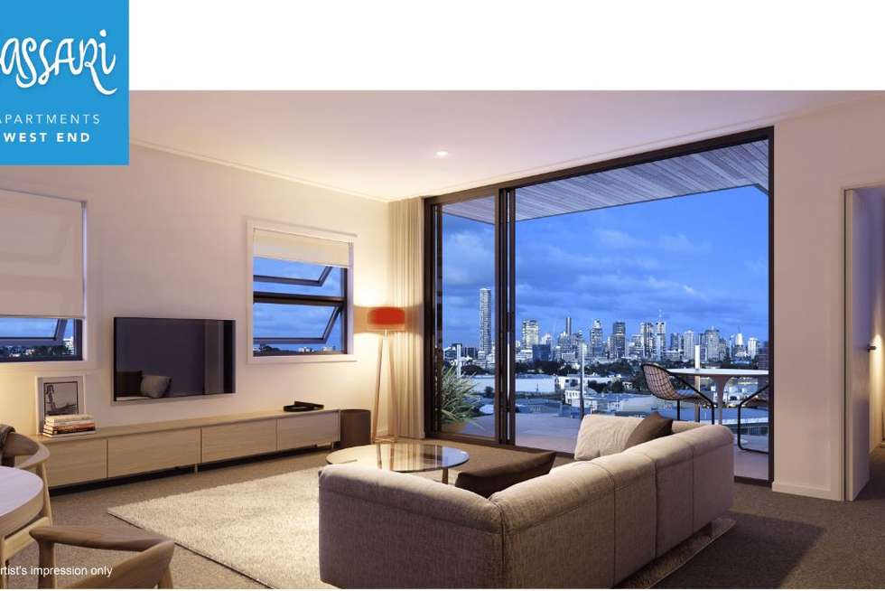 Fourth view of Homely apartment listing, 706/25 Duncan Street, West End QLD 4101