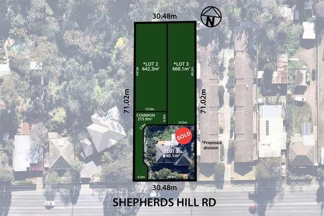 Lots 2&3/351 Shepherds Hill Road, Blackwood SA 5051