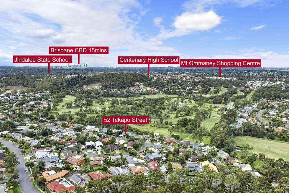 Second view of Homely house listing, 52 Tekapo Street, Westlake QLD 4074