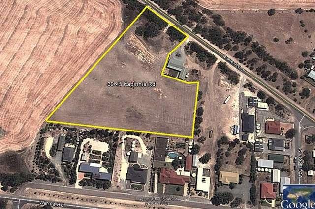 39-45 Kapinnie Road, Cummins SA 5631
