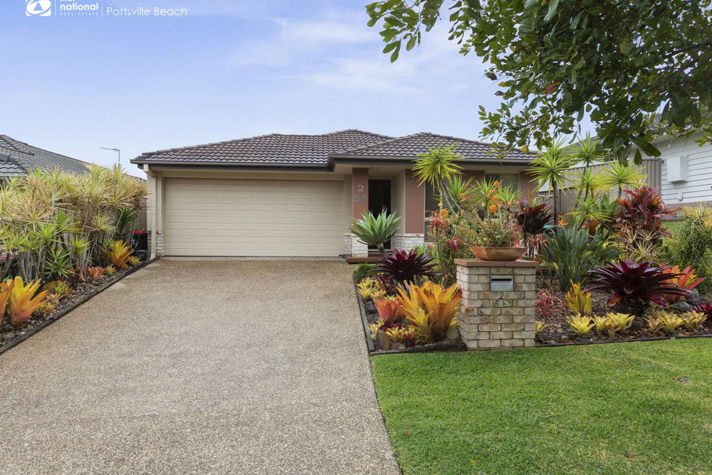 Main view of Homely semiDetached listing, 2/56 Newcastle Drive, Pottsville NSW 2489