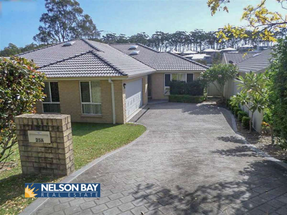 Main view of Homely semidetached listing, 25a Albacore Drive, Corlette, NSW 2315