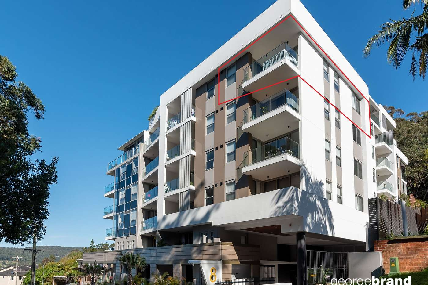 Main view of Homely unit listing, 504/8 Kendall Street, Gosford NSW 2250