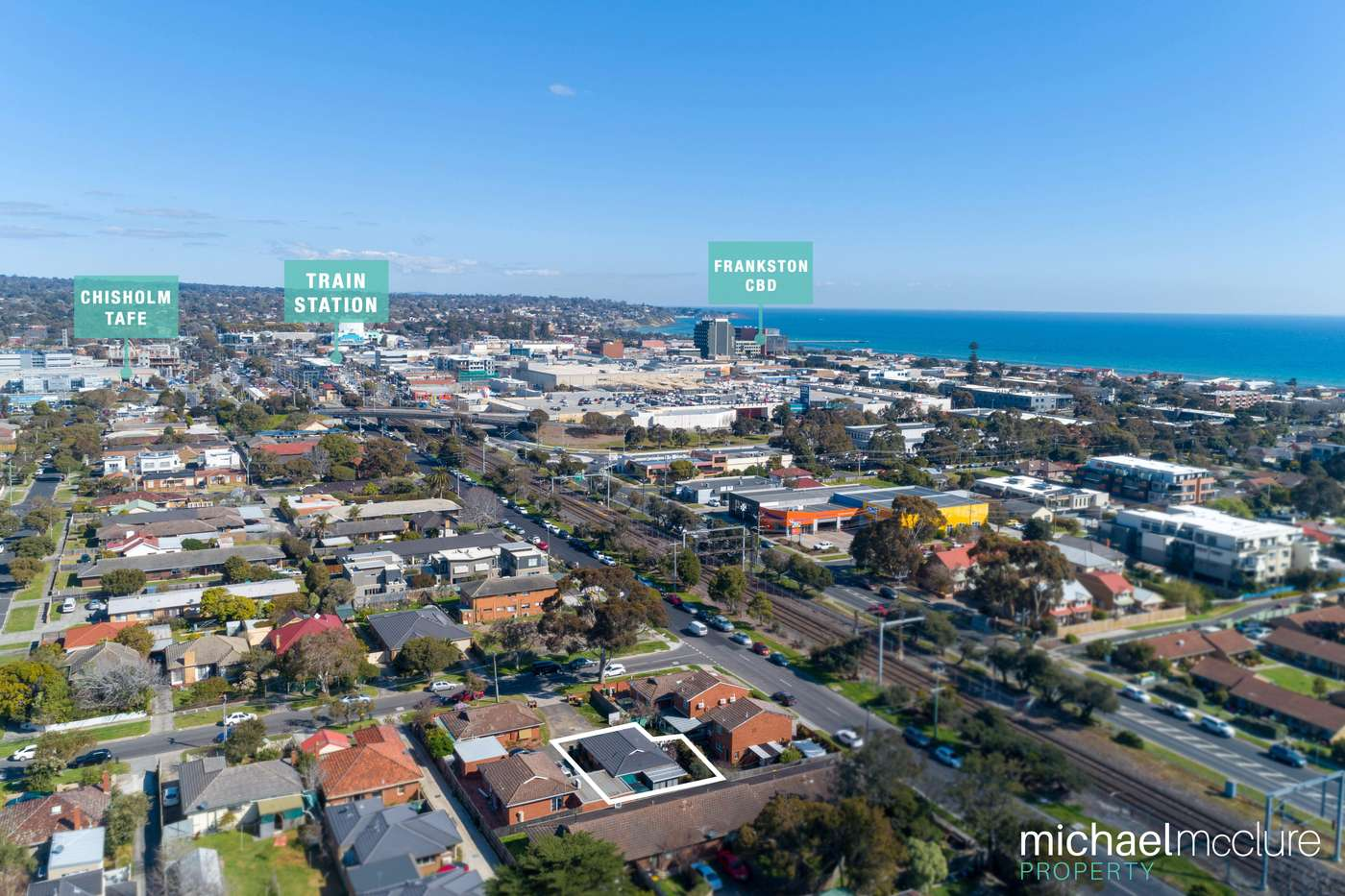 Main view of Homely unit listing, 4/41-43 Dandenong Road East, Frankston, VIC 3199