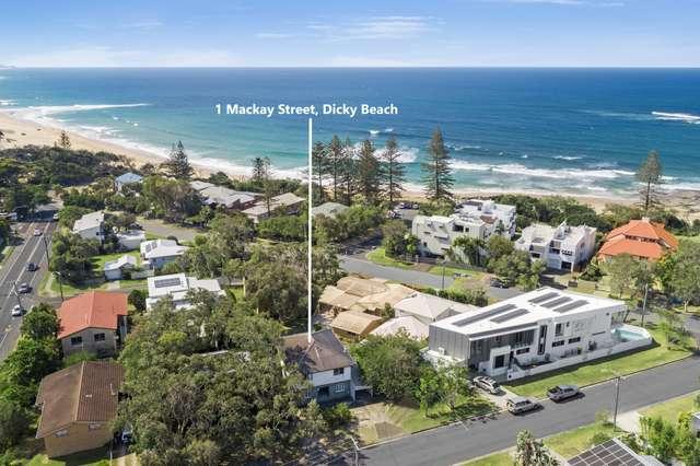 1 Mackay Street, Dicky Beach QLD 4551