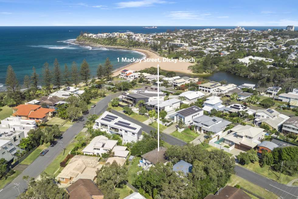 Second view of Homely house listing, 1 Mackay Street, Dicky Beach QLD 4551