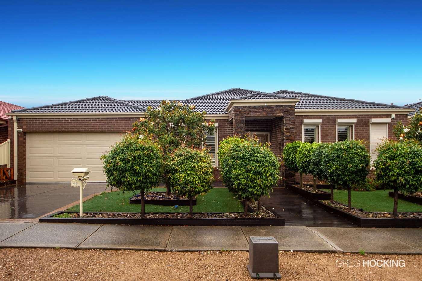 Main view of Homely house listing, 45 Jacaranda Drive, Taylors Hill VIC 3037