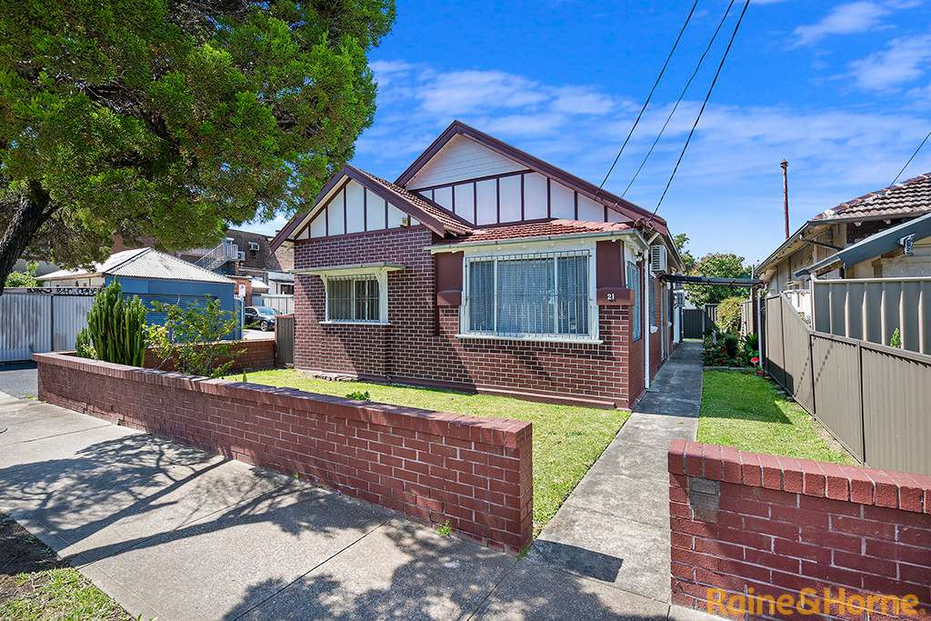 Main view of Homely house listing, 21 EARLE AVENUE, Ashfield, NSW 2131