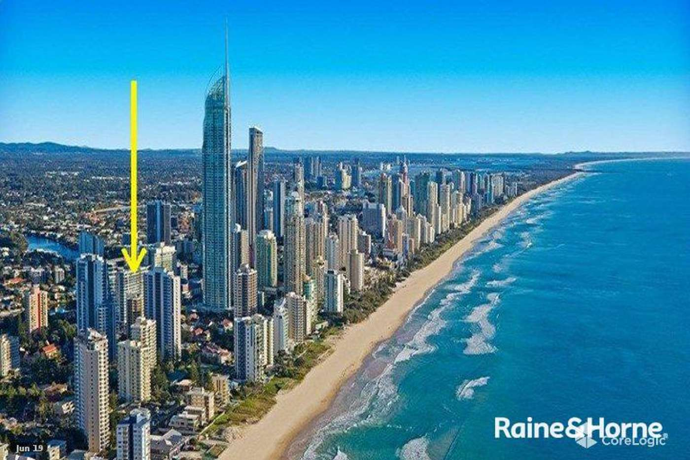Main view of Homely apartment listing, 1312/3018 SURFERS PARADISE BOULEVARD, Surfers Paradise QLD 4217
