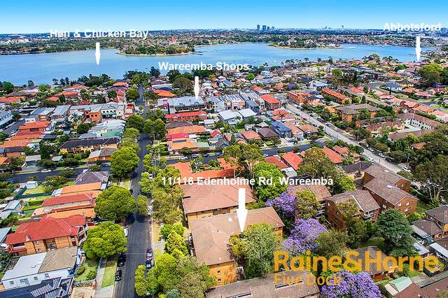 11/116 EDENHOLME ROAD, Wareemba NSW 2046
