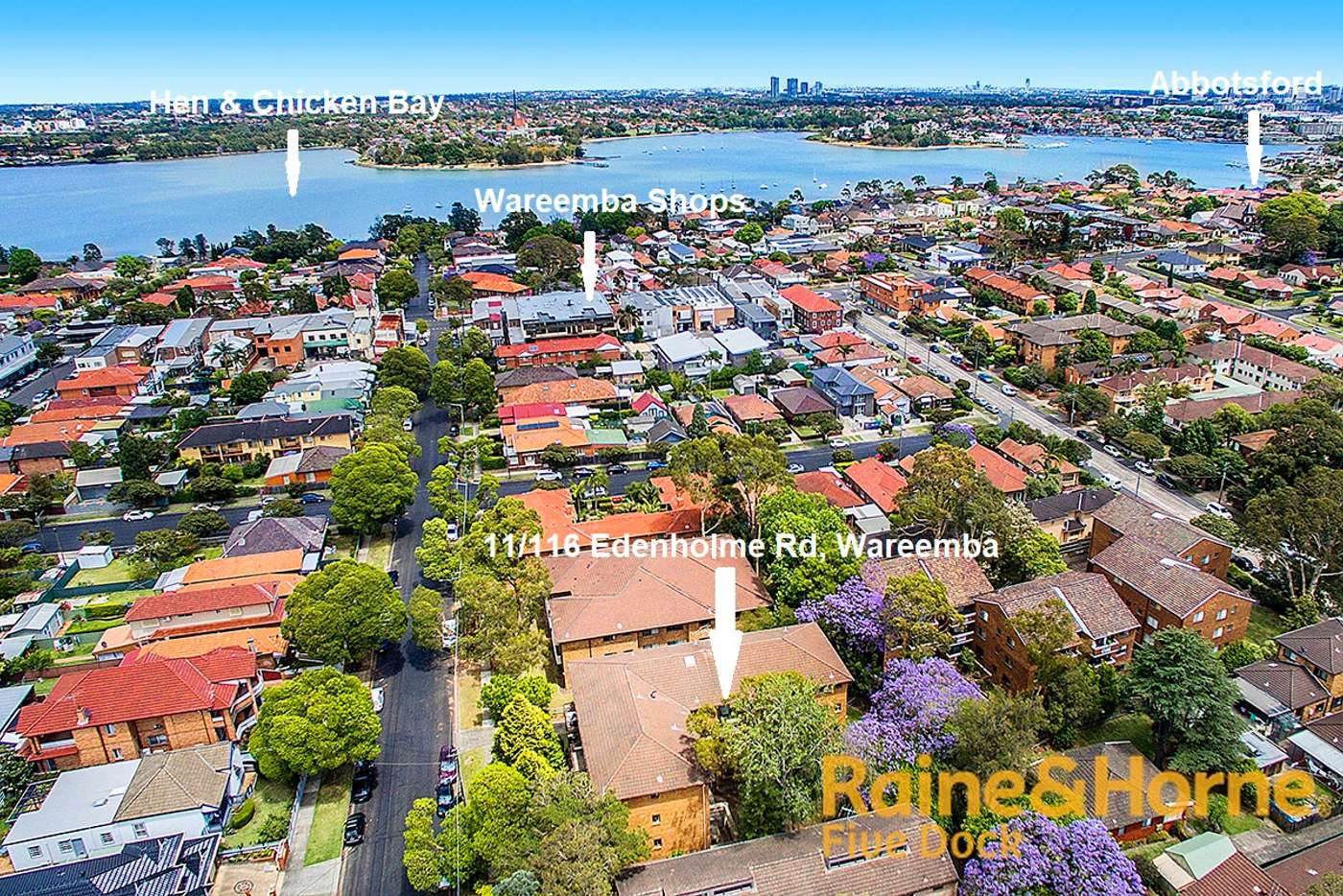 Main view of Homely apartment listing, 11/116 EDENHOLME ROAD, Wareemba NSW 2046