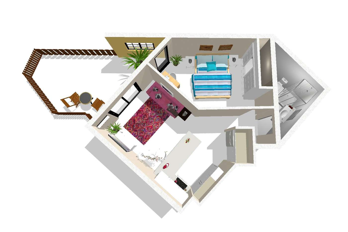 Main view of Homely apartment listing, 6/10-12 Bath Street, Labrador QLD 4215