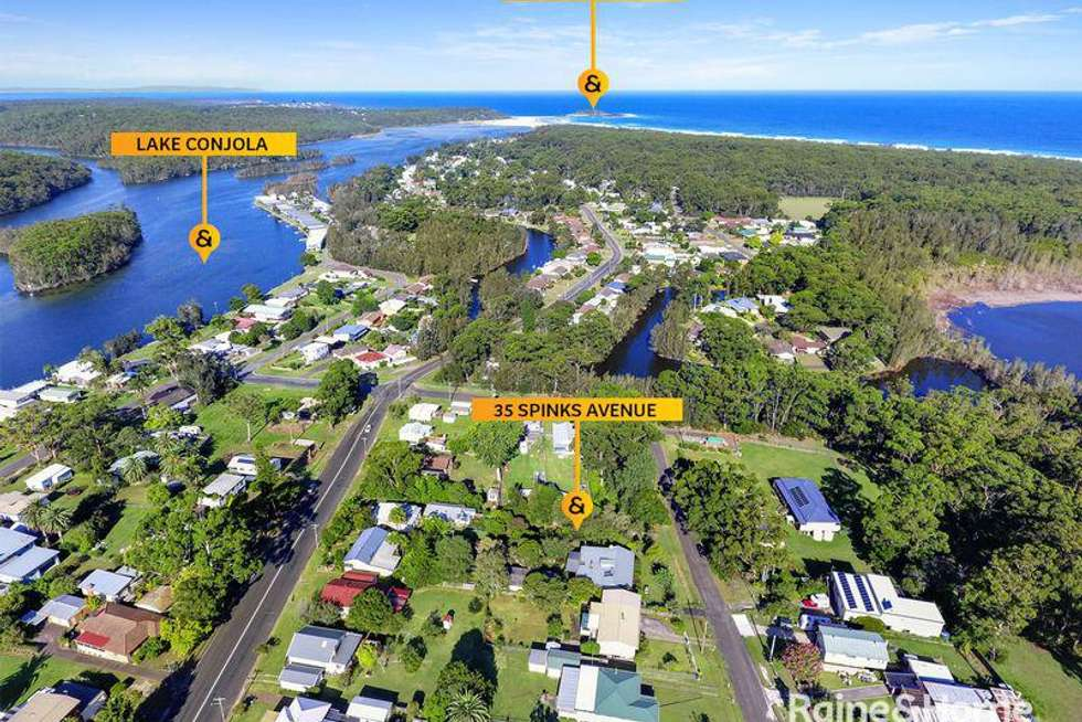 Second view of Homely residentialLand listing, 35 Spinks Avenue, Lake Conjola NSW 2539