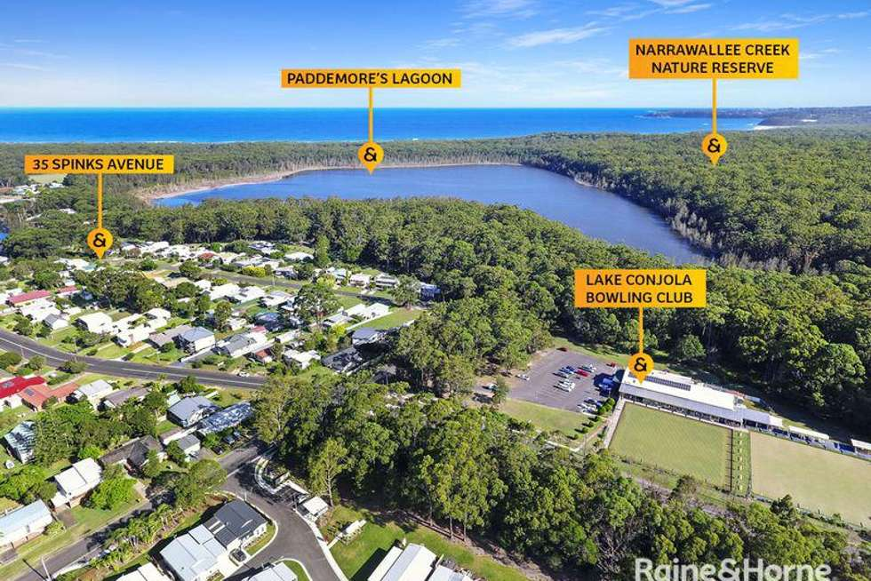 Fifth view of Homely residentialLand listing, 35 Spinks Avenue, Lake Conjola NSW 2539