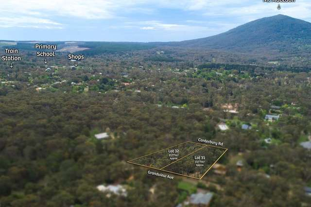 LOT Lots 31 & 32/56 Grandview Avenue, Macedon VIC 3440