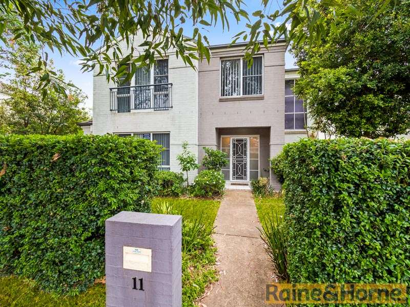 Main view of Homely house listing, 11 Keirle Road, Kellyville Ridge, NSW 2155