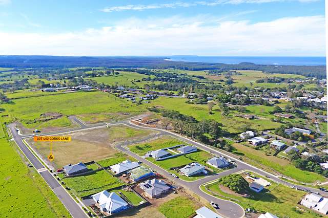 Lot 402 Corks Hill, Milton NSW 2538