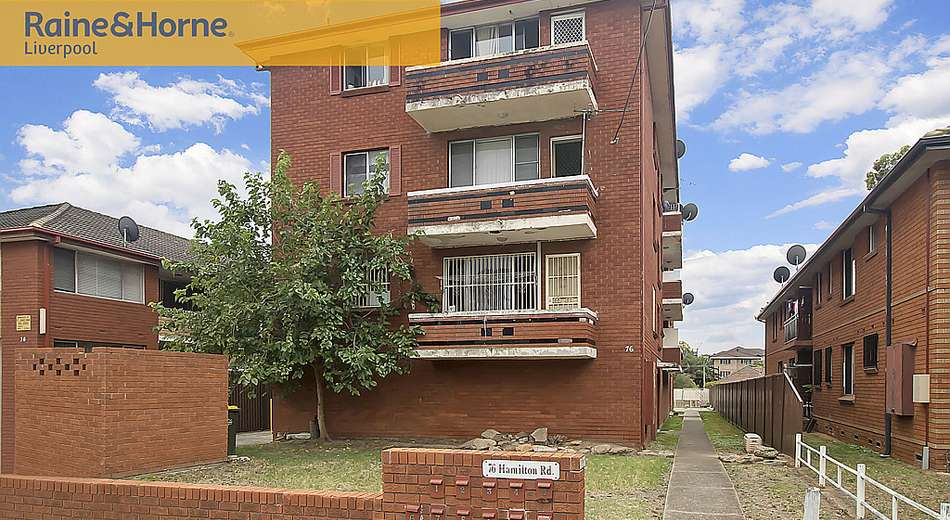 8/76 Hamilton Road, Fairfield NSW 2165