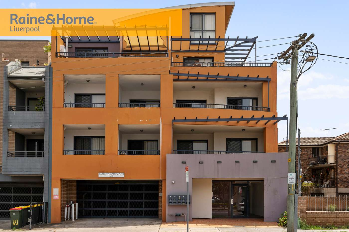 Main view of Homely unit listing, 5/49 Bathurst Street, Liverpool NSW 2170