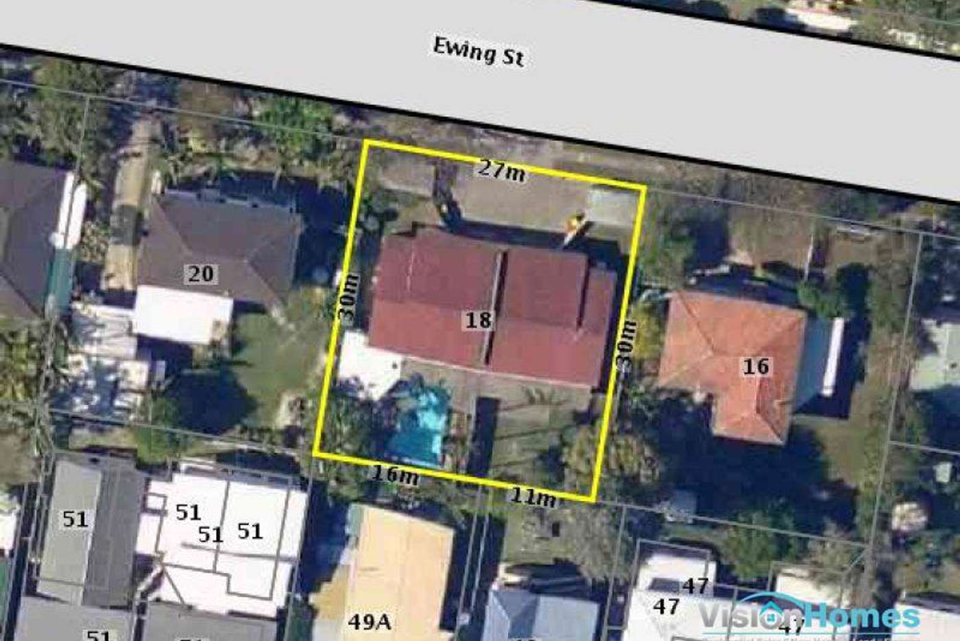 Main view of Homely semiDetached listing, 18 Ewing Street, Zillmere QLD 4034