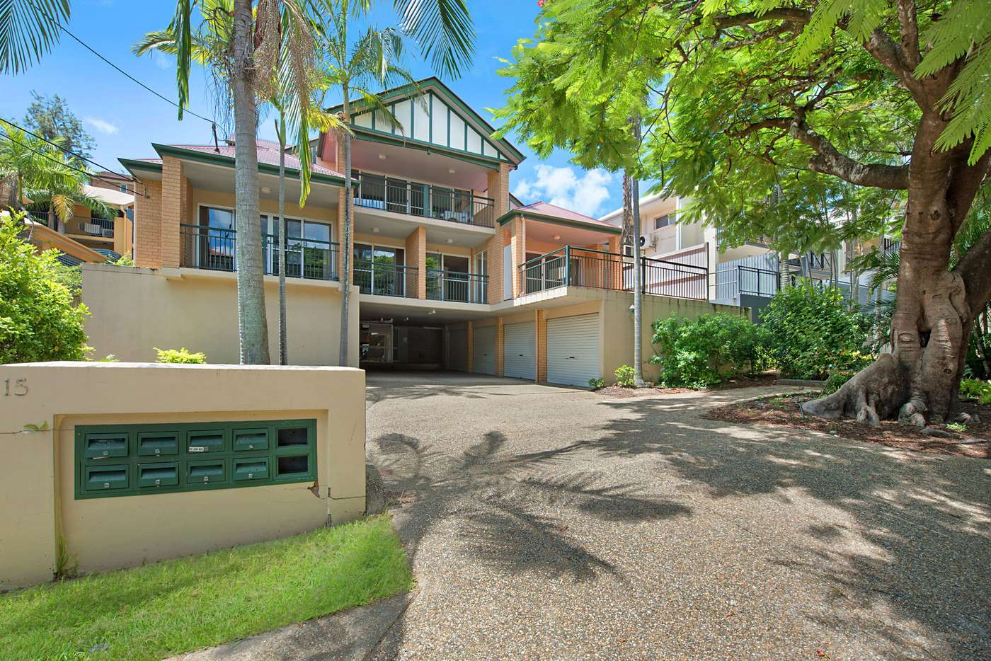 Main view of Homely unit listing, 3/15 Franklin, Kelvin Grove QLD 4059