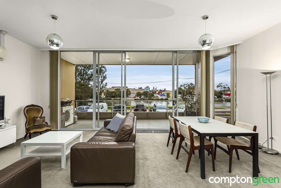 Second view of Homely apartment listing, 1/2 Saltriver Place, Footscray VIC 3011