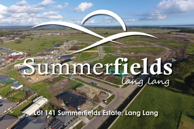 Lot 141 Summerfields Estate, Lang Lang VIC 3984