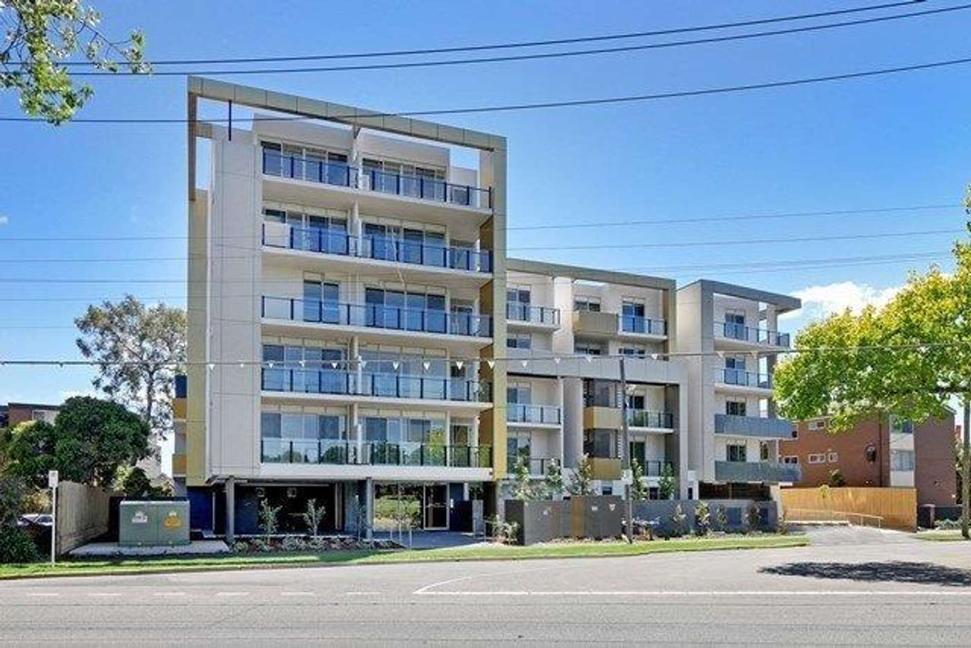 Main view of Homely apartment listing, 412/109 Manningham Street, Parkville VIC 3052