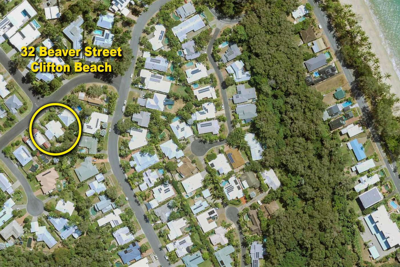 Main view of Homely house listing, 32 Beaver Street, Clifton Beach QLD 4879