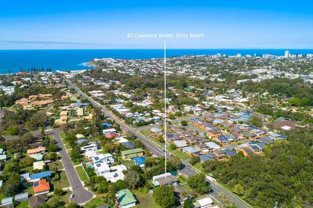 87 Cooroora Street, Dicky Beach QLD 4551